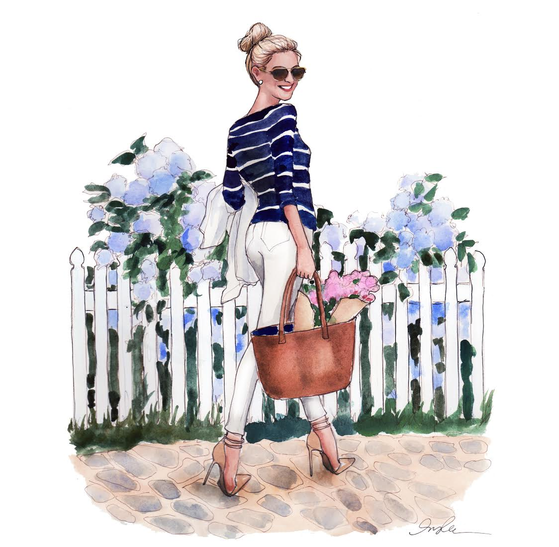 Illustration of Julia Dzafic by Inslee