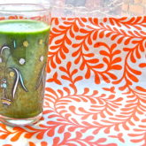 Kale, Spinach, Apple Smoothie