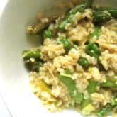Asparagus and Truffle Oil Risotto