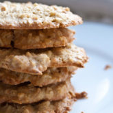 Sweet and Salty Cashew Cookies