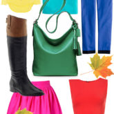 Colorful Must Haves for Fall