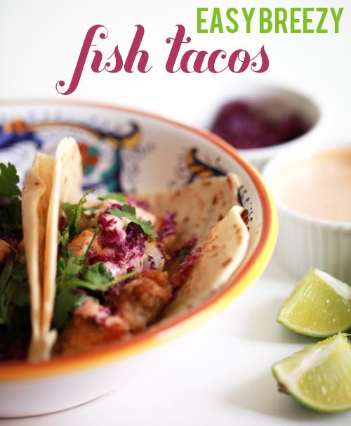 Easy fish taco recipe for Fish taco recipe easy