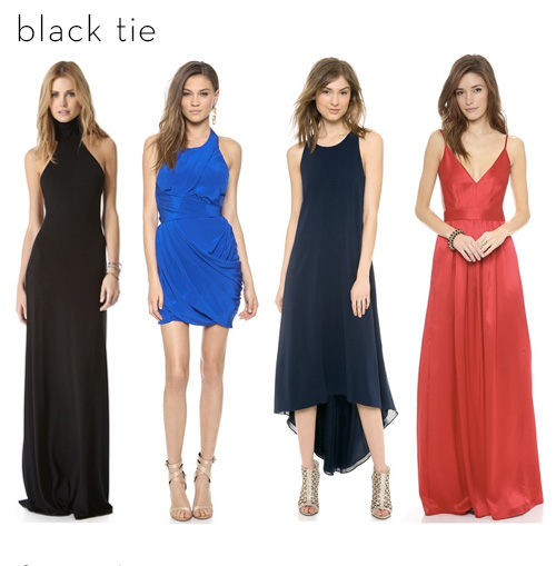 Formal Dresses For Black Tie Wedding - Wedding Photography Website