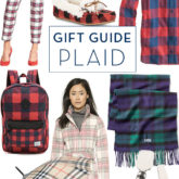 Holiday Gift Guide: Plaid
