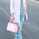 Blush + Stripes