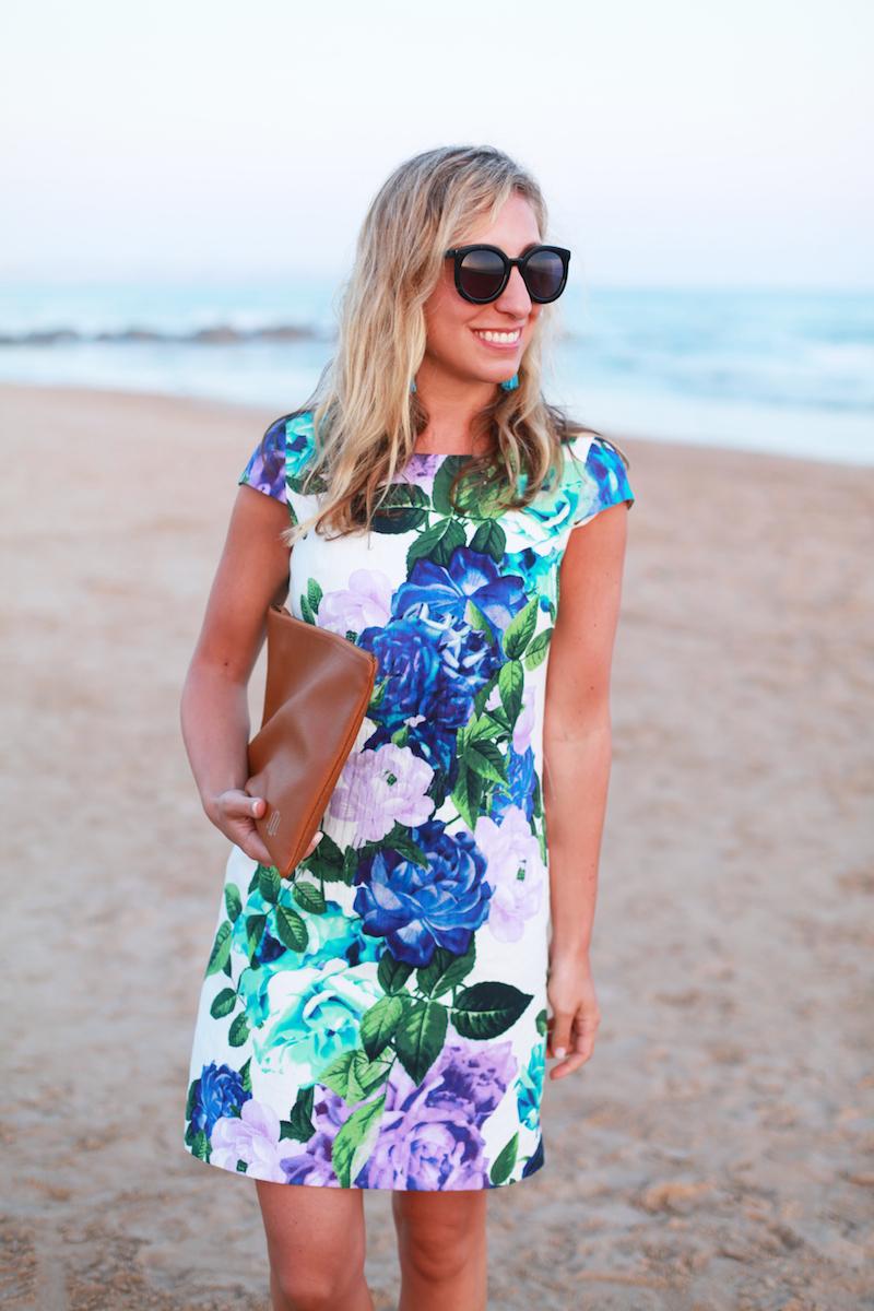 Floral-Cocktail-Dress