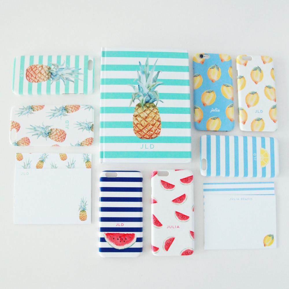 Lemon Stripes Collection