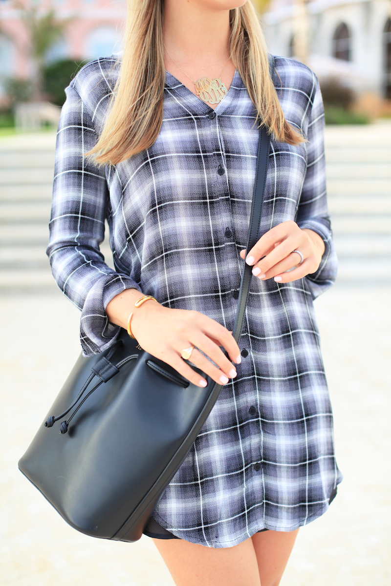 Plaid Dress by Cupcakes + Cashmere
