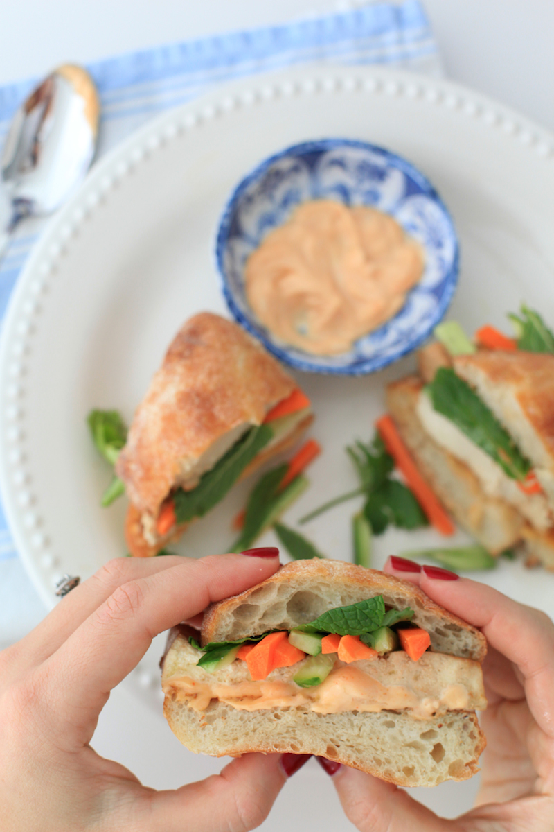 Tofu Bahn Mi Recipe