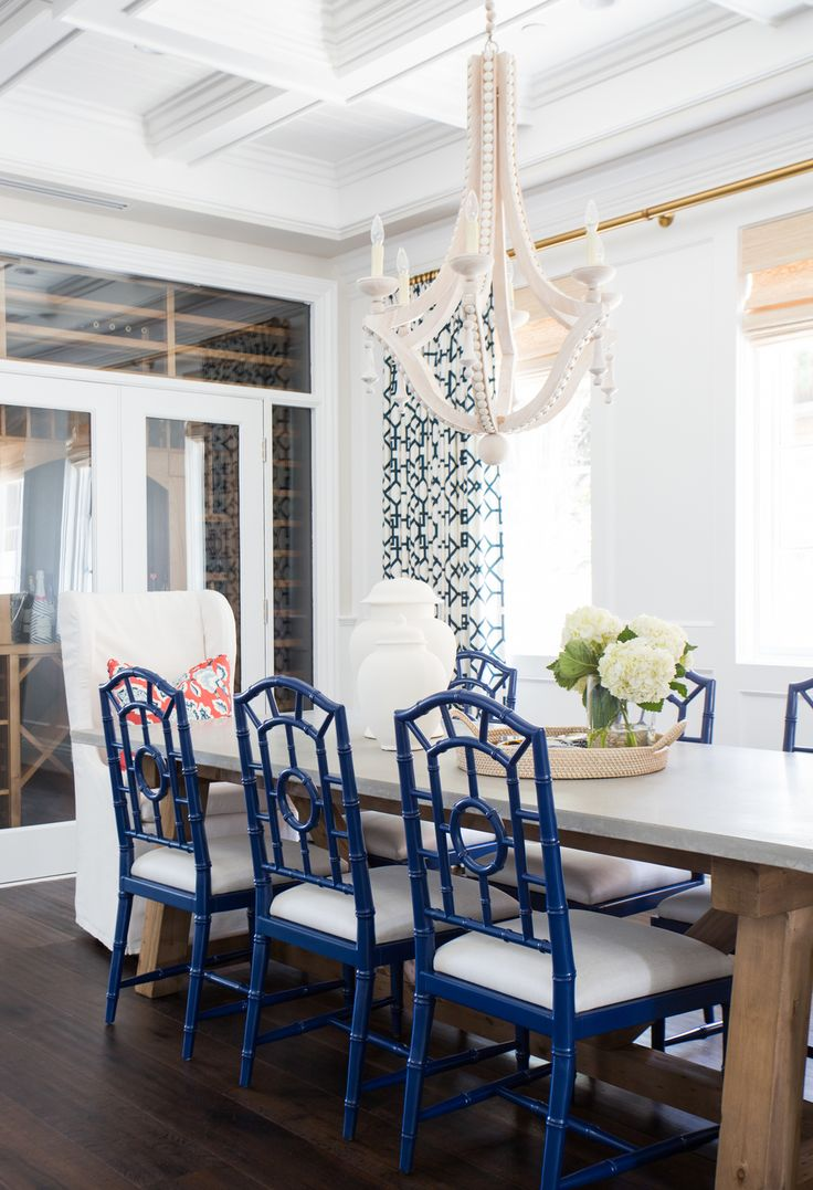Dining Room Inspiration - Lemon Stripes