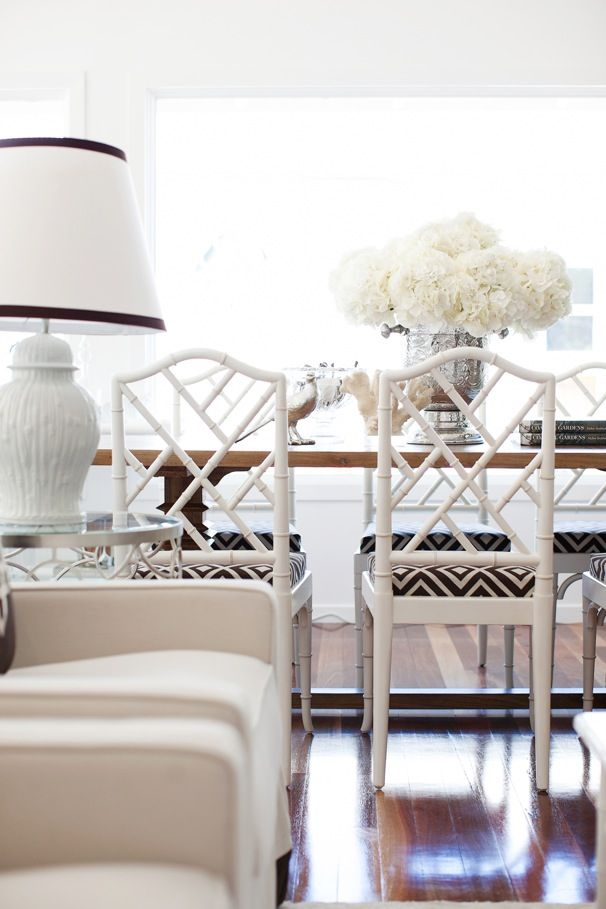 white dining room - Dining Room Inspiration