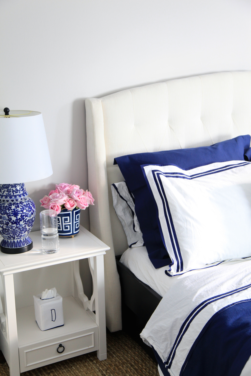 Preppy Guest Room