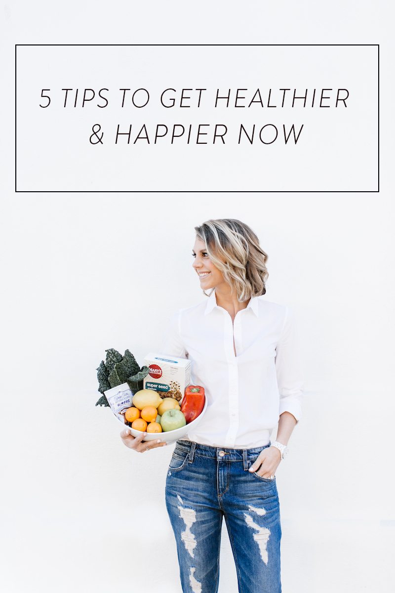 5 Tips to Get Happier Now