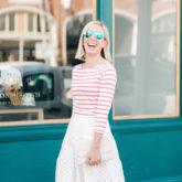 Stripes & Eyelet
