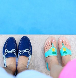 His and hers jackrogersusa for a day at the pool!hellip