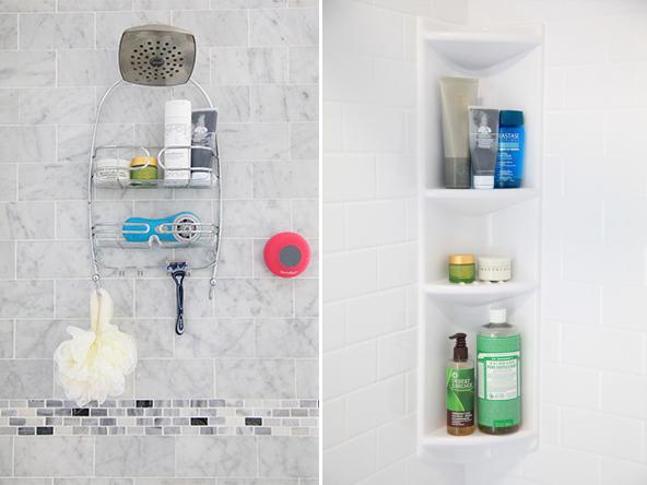 Shower Storage by Bath Fitter