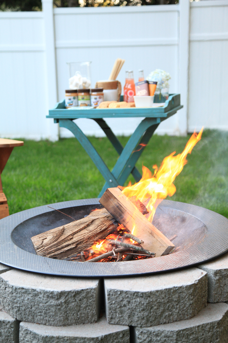 Host a s'mores party