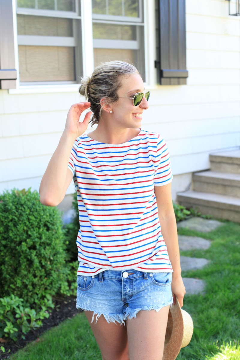 J.Crew Factory Striped Shirt
