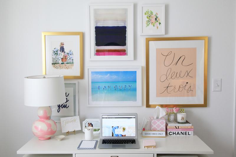 Office Gallary Wall