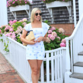 White Romper in Nantucket