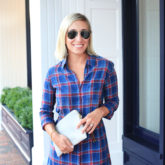 Soft Plaid Dress