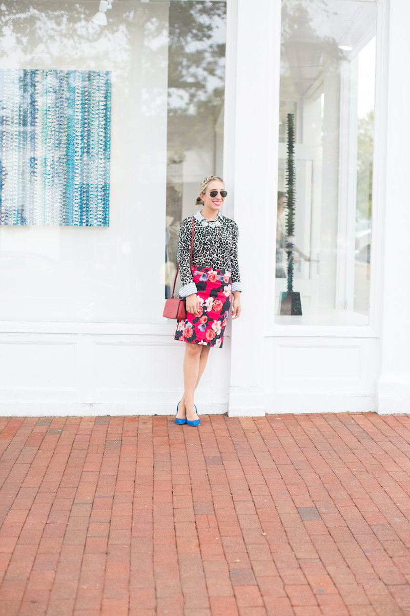 floral-skirt-and-leopard-sweater