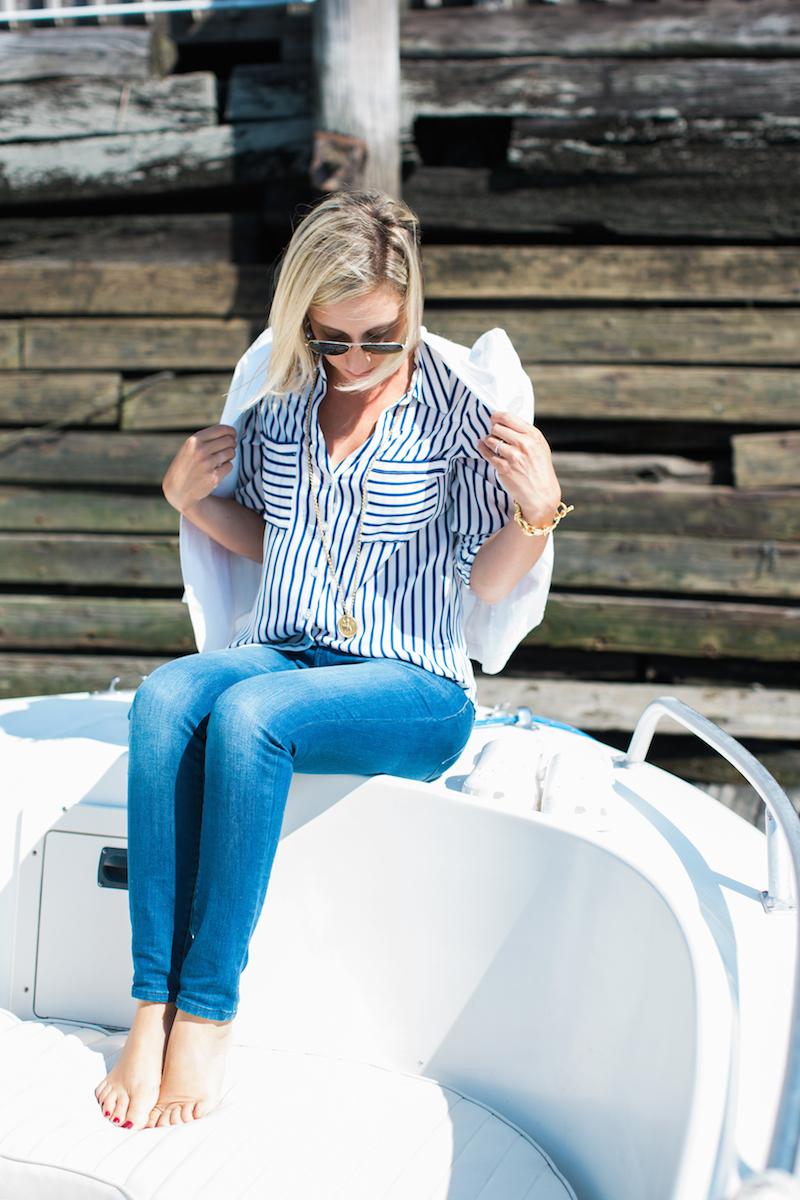 lemon-stripes-on-a-boat
