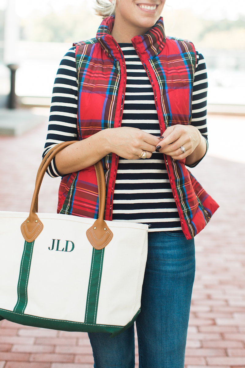 Fall preppy outfit