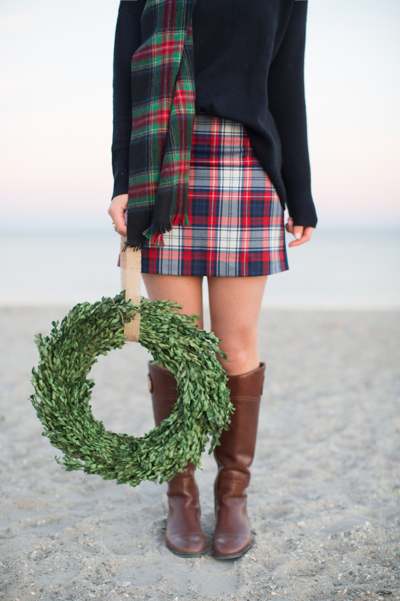 plaid-skirt