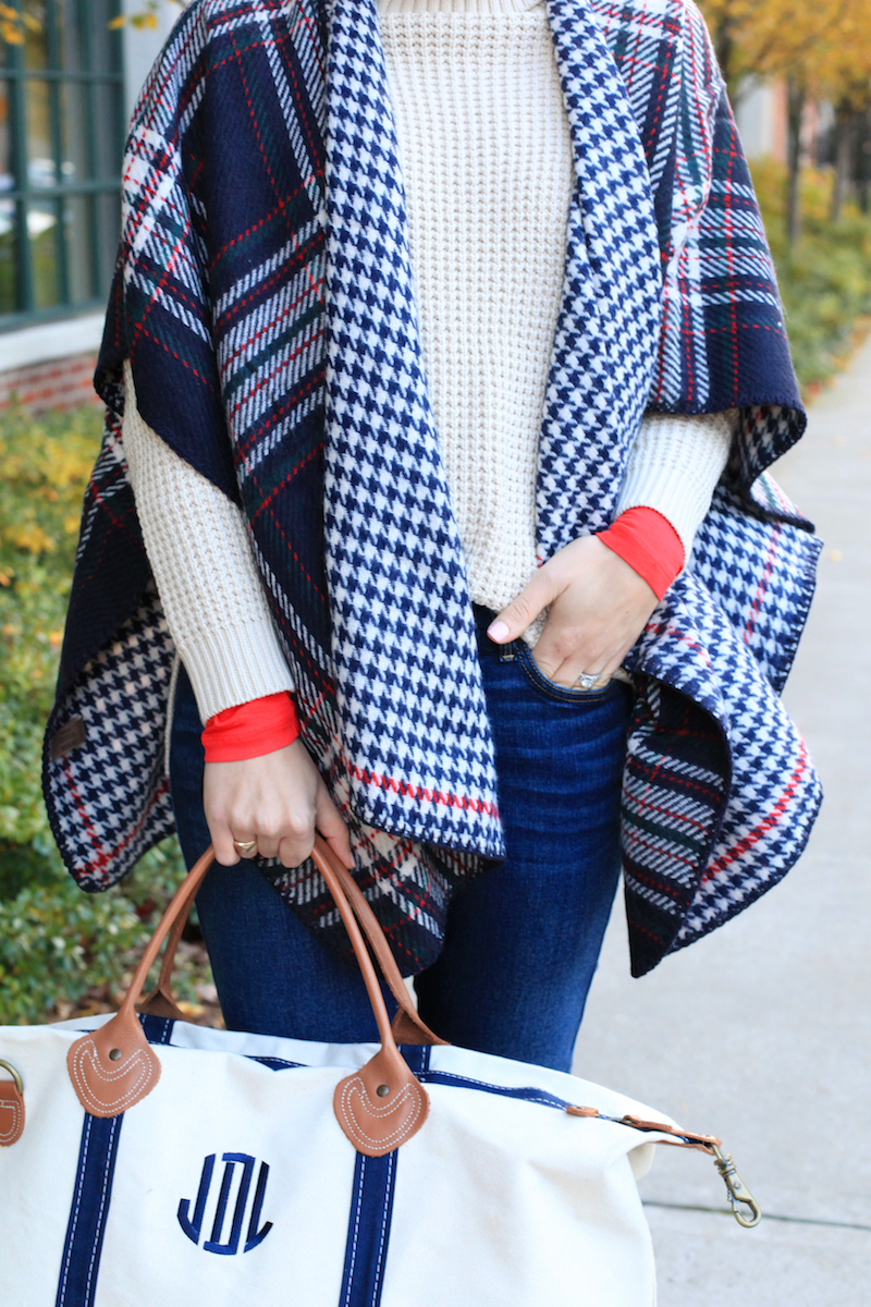 Reversible Plaid Capes