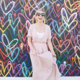Pink Wrap Dress