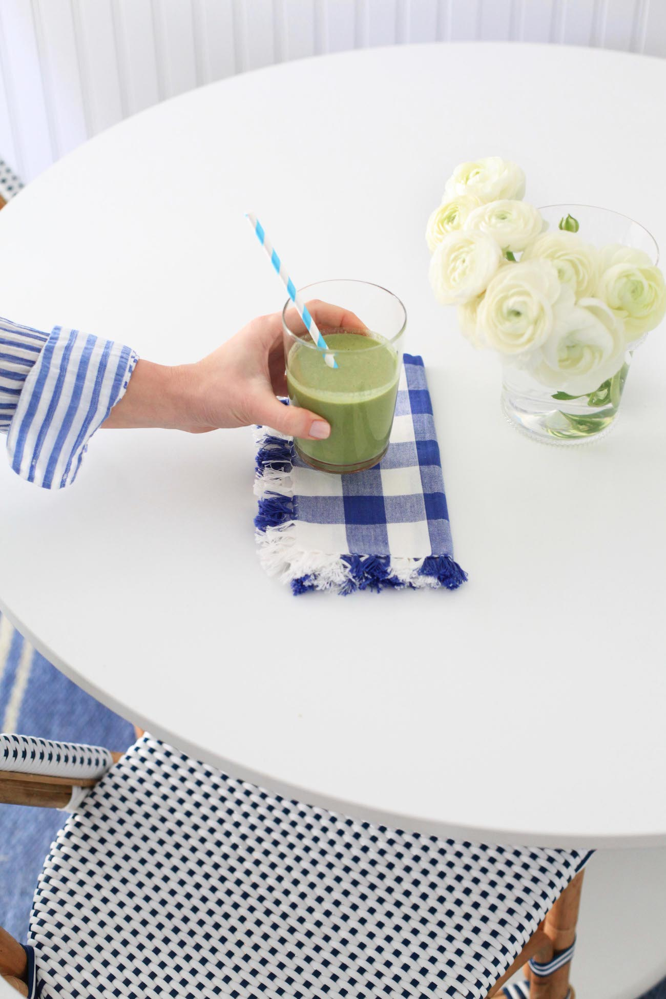 Lemon Stripes Green Smoothie Recipe