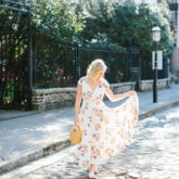 Floral Maxi in Charleston