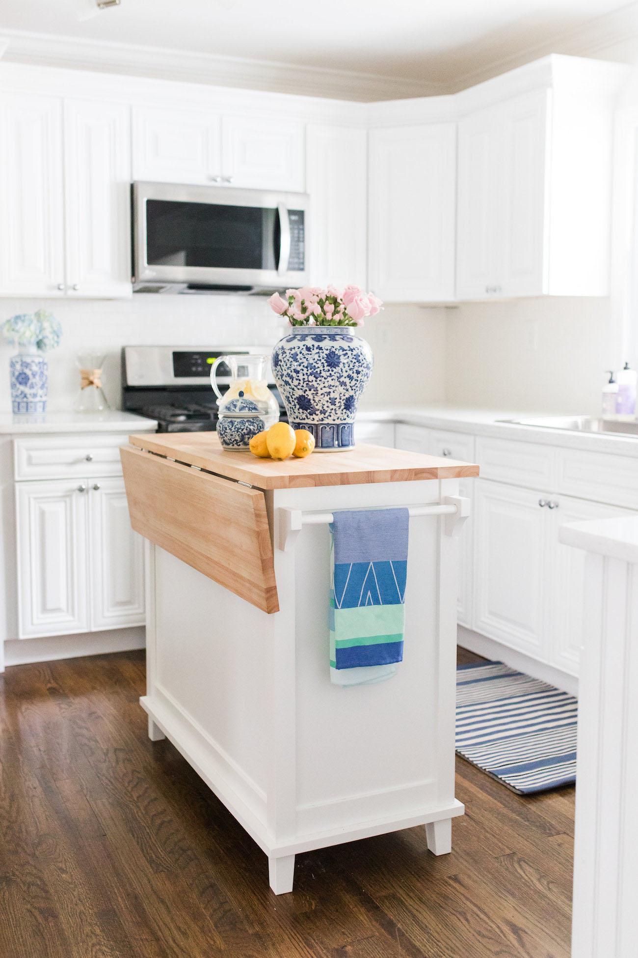 Lemon Stripes Kitchen Reveal