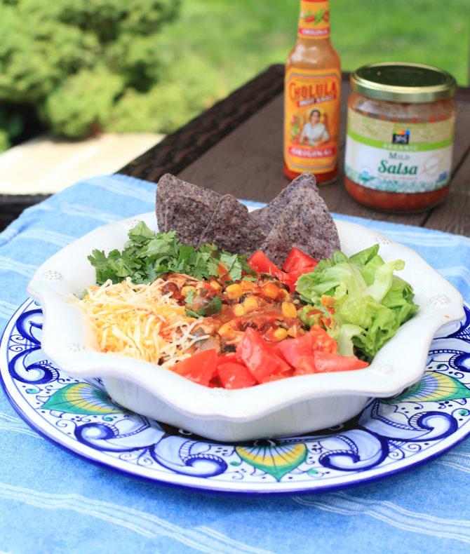 Chicken Taco Bowls Recipe: Recipes