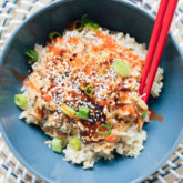 Honey Teriyaki Chicken Bowls