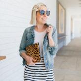 Rewear It: Striped Midi Skirt