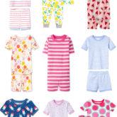 Summer Toddler PJs