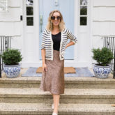 Re-Wear It: Striped Cardigan