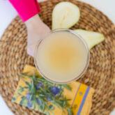 Rosemary Pear Mocktail