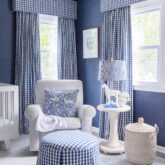 Luca's Blue & White Nursery